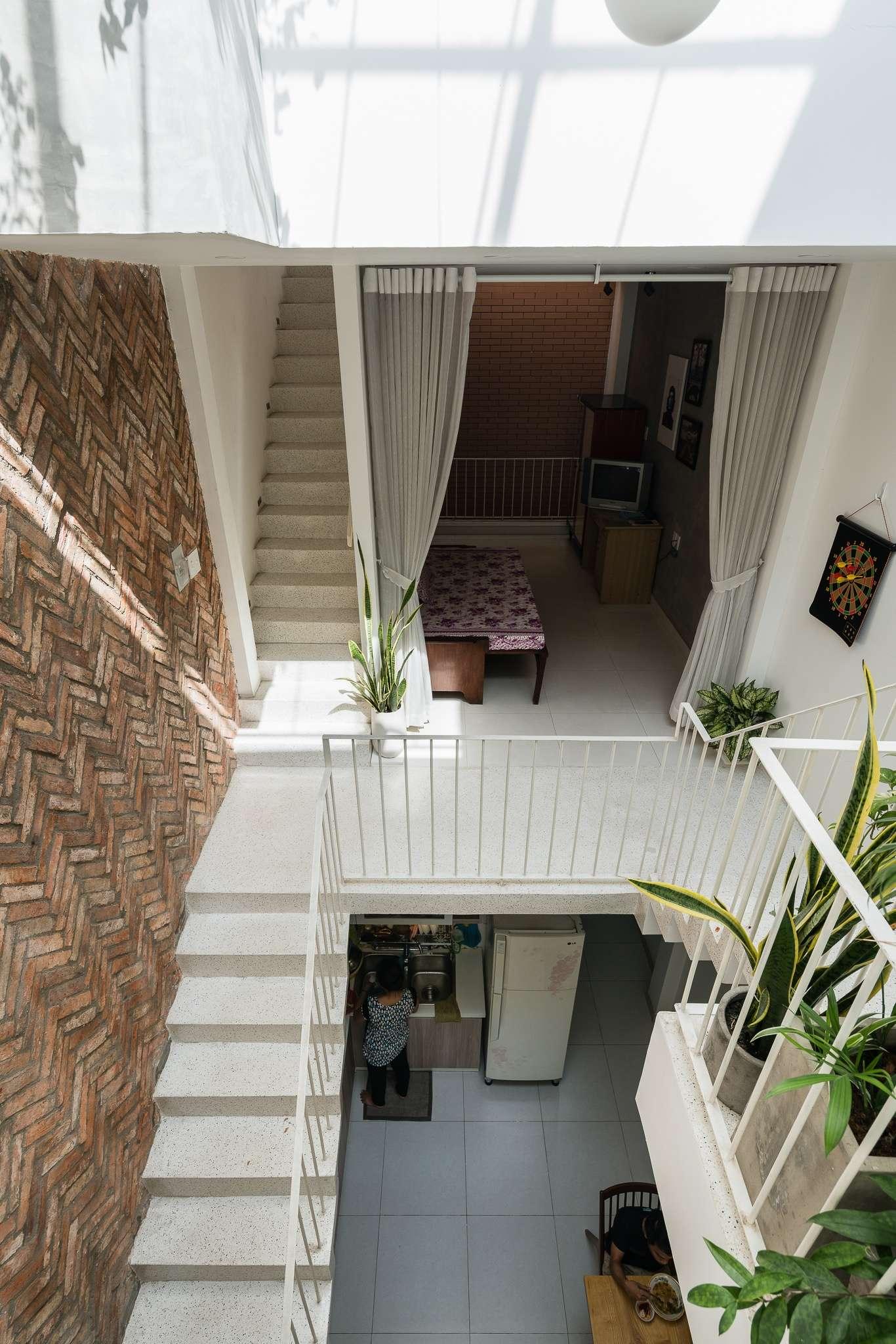 Các không gian sinh hoạt trong Giabinh.house được kết nối với nhau rất hiệu quả.