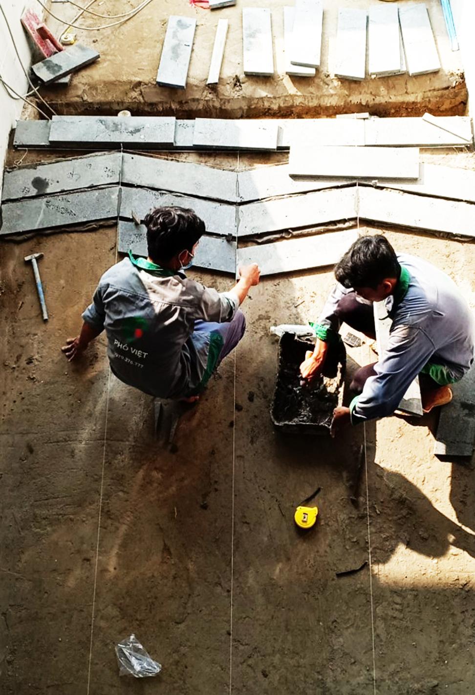 Đội ngũ thi công của Phố Việt lành nghề, giàu kinh nghiệm, đem lại sự chắc chắn, yên tâm cho khách hàng