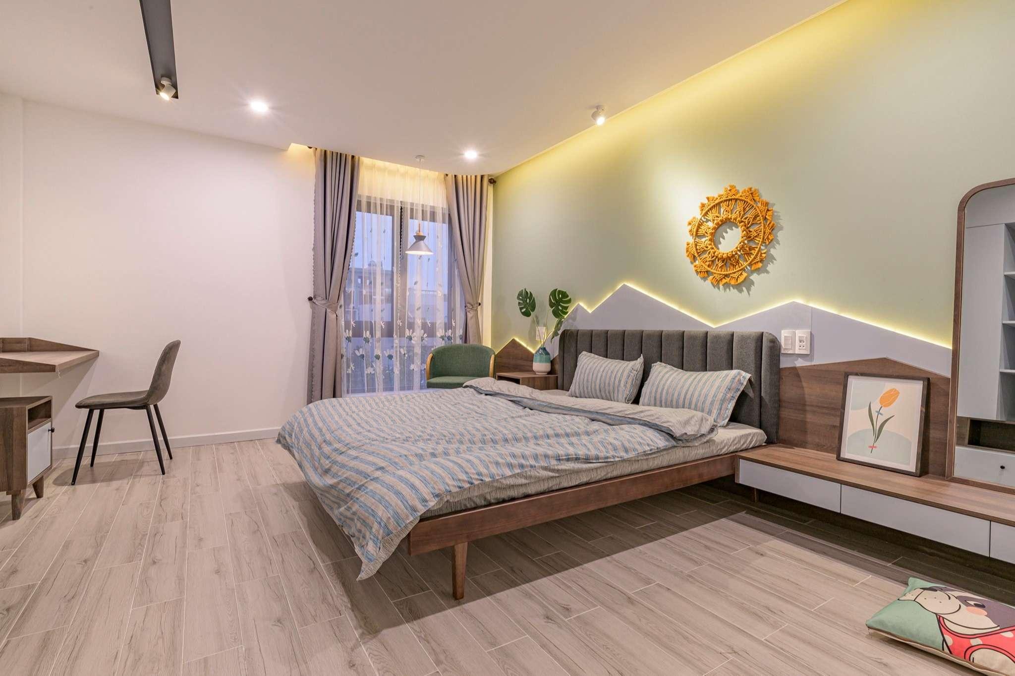 Phòng ngủ nào cũng đều thoáng, sáng