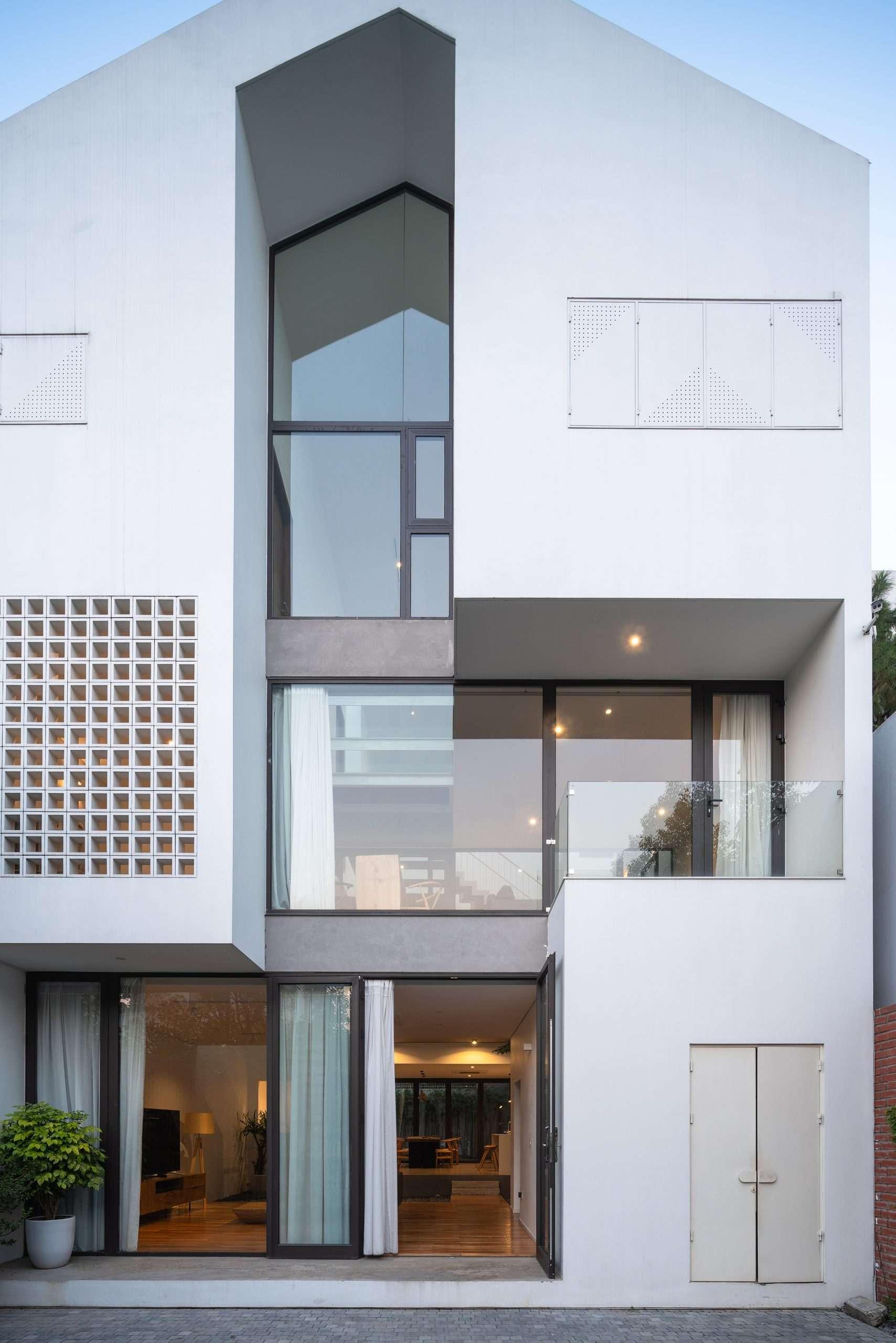 Nhà Hạ Long | Ngôi nhà nhìn từ bên ngoài