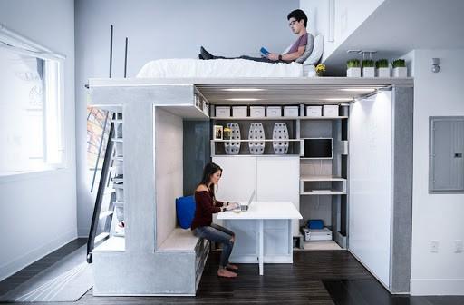 Thiết kế nội thất và thi công trọn gói với những sản phẩm đa năng giúp tăng tiện ích cho không gian sống