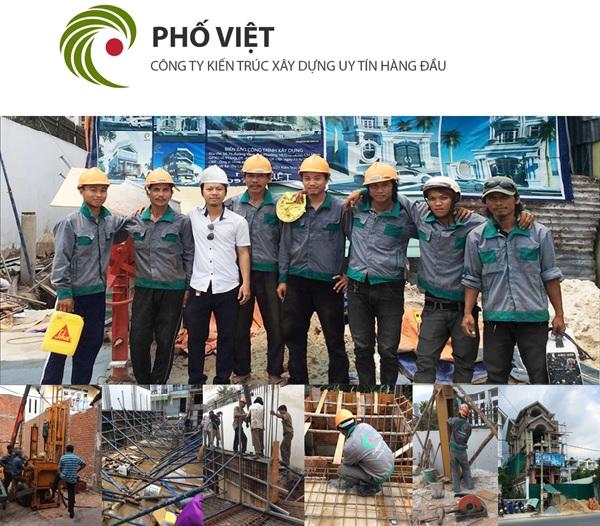 Phố Việt - Đơn vị thi công phần thô uy tín hàng đầu hiện nay