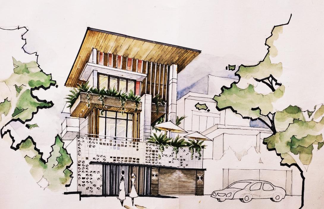 Cần phải có bản vẽ thiết kế trước khi xây dựng để dễ hình dung và dự toán được chi phí thi công